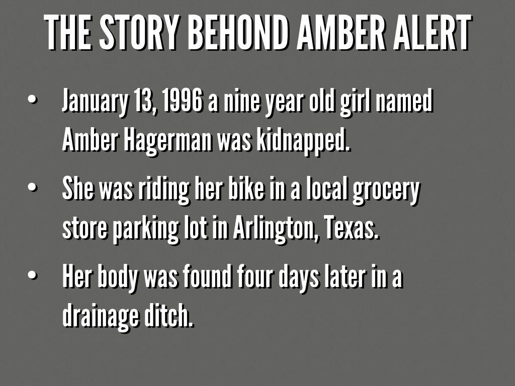 Amber Alert by Abbey Turner