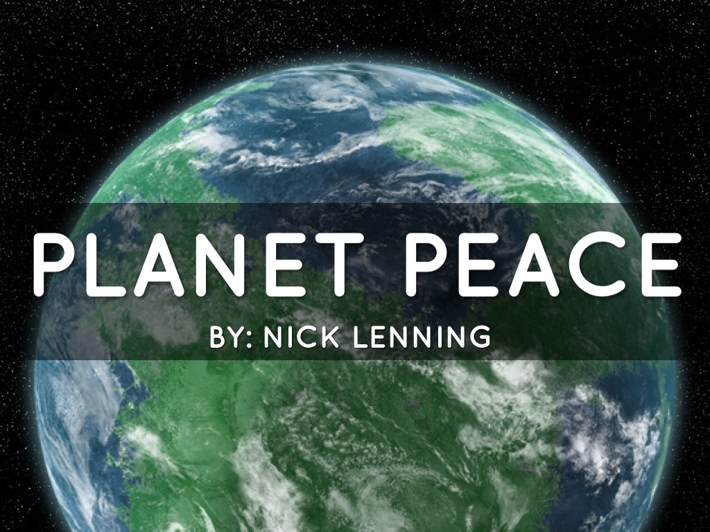 making peace with the planet Buy making peace with the planet on amazoncom free shipping on qualified orders.