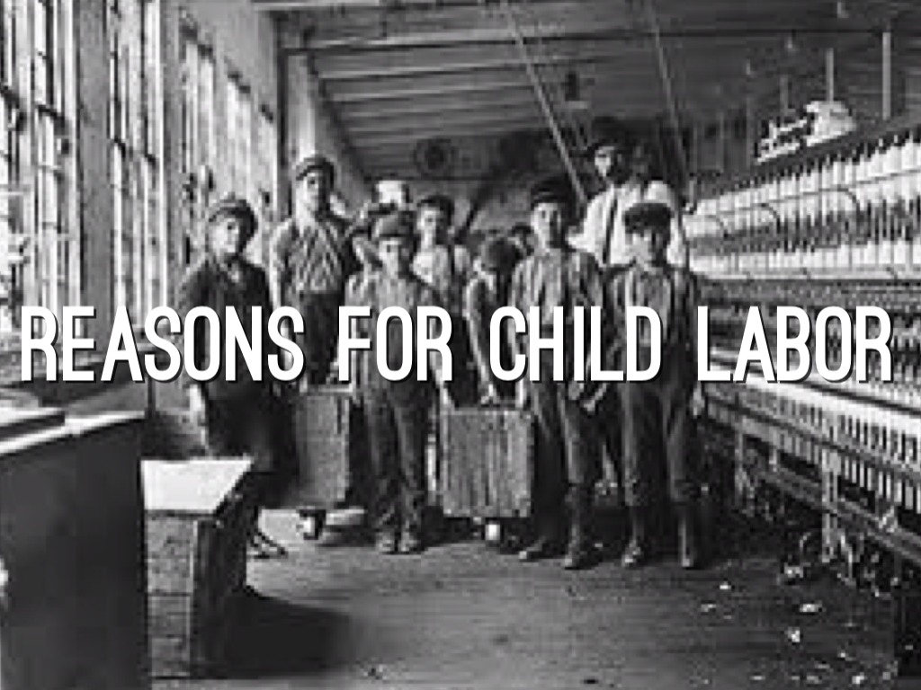 Child Labor During The Industrial Revolution by