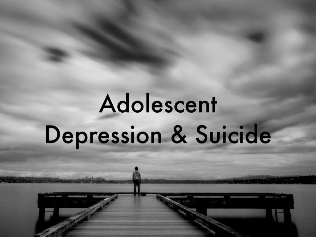 adolescent depression and suicide Despite the rise in teen depression  as reported in time's nov 7th cover story these incidents ranged from expressions of openness to suicide and.
