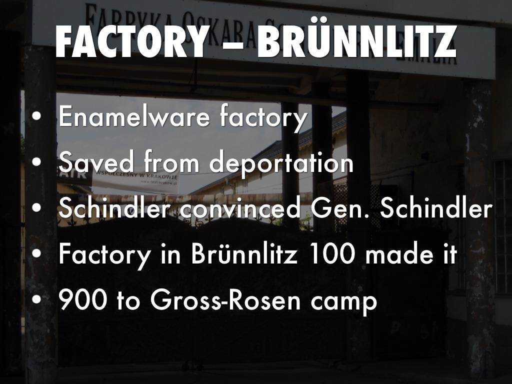 oskar schindler by anna jecha factory brÜnnlitz