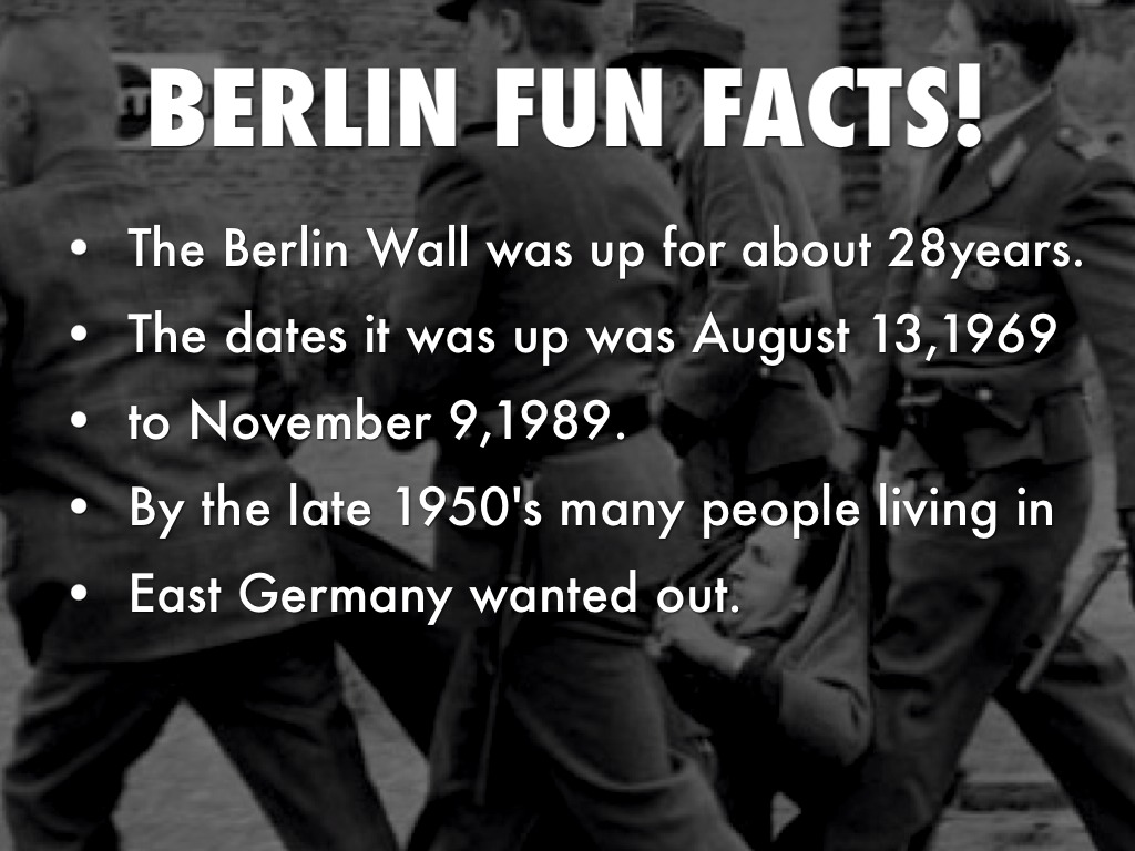 10 Interesting Berlin Wall Facts   My Interesting Facts   Fun Facts About The Berlin Wall