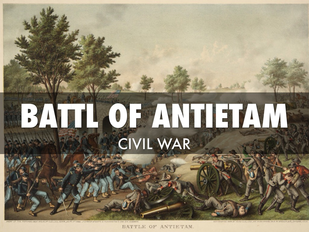 battle of antietam The battle of antietam was the bloodiest single day in american history robert e lee took his army to antietam to take the war out of southern territory.