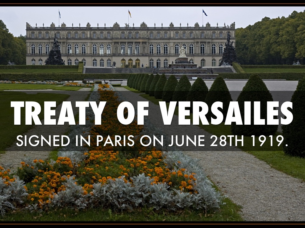 treaty of versalliers Woodrow wilson essays & research papers wilson returned to the united states with a treaty that lacked many of the key treaty of versalliers.