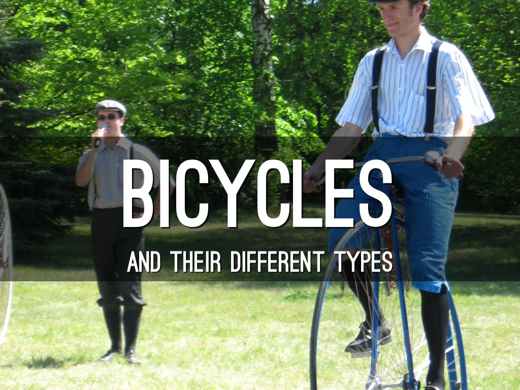 Different Types Of Bicycles