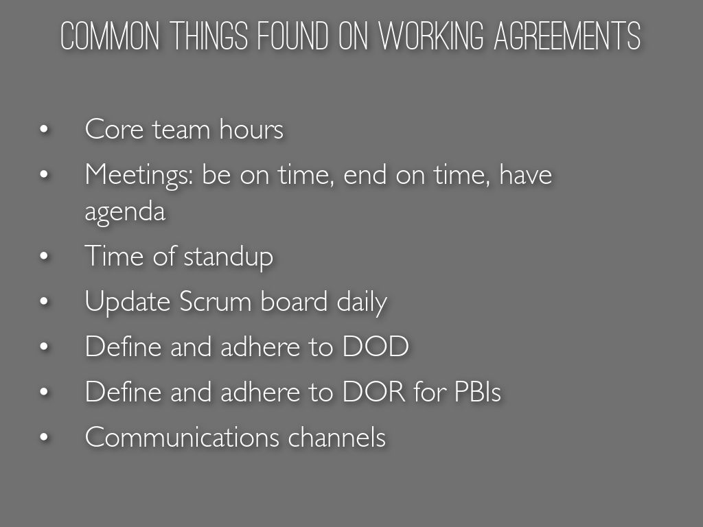 Team Working Agreements By Mirna Ban Fitzloff