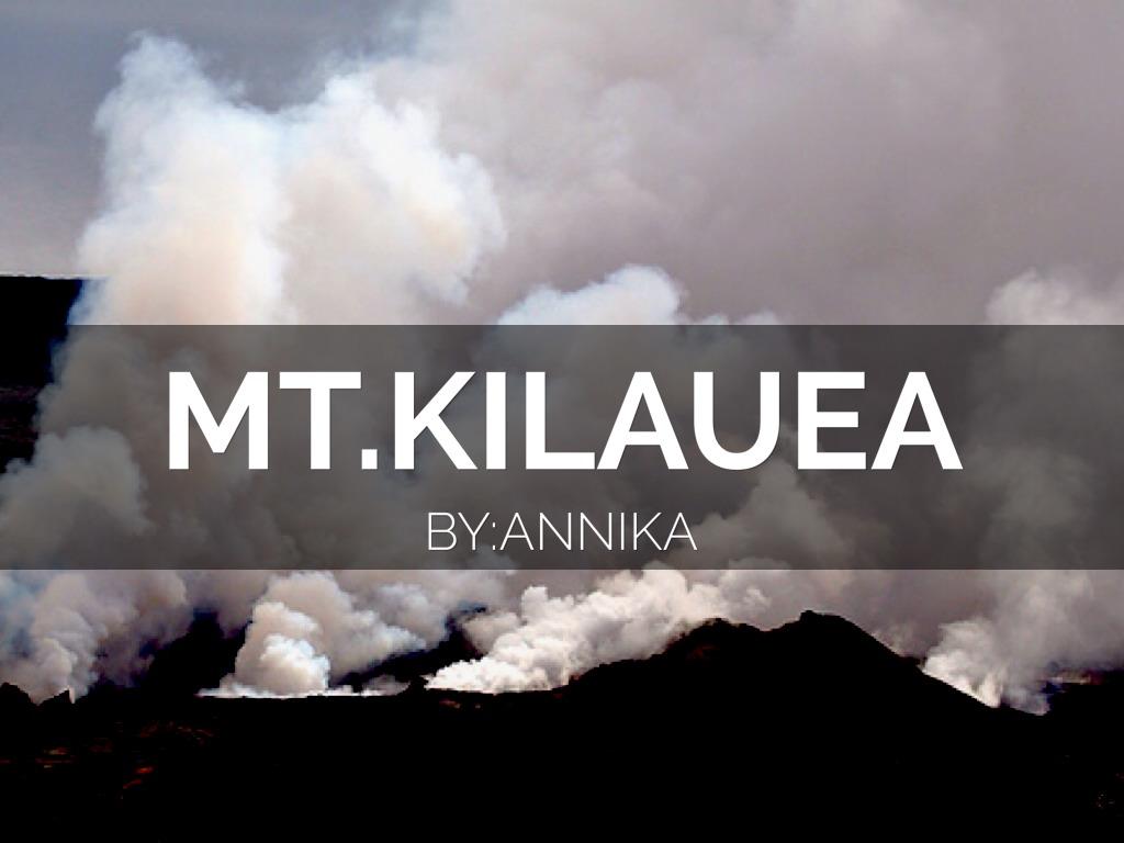 Mt.Kilaeua