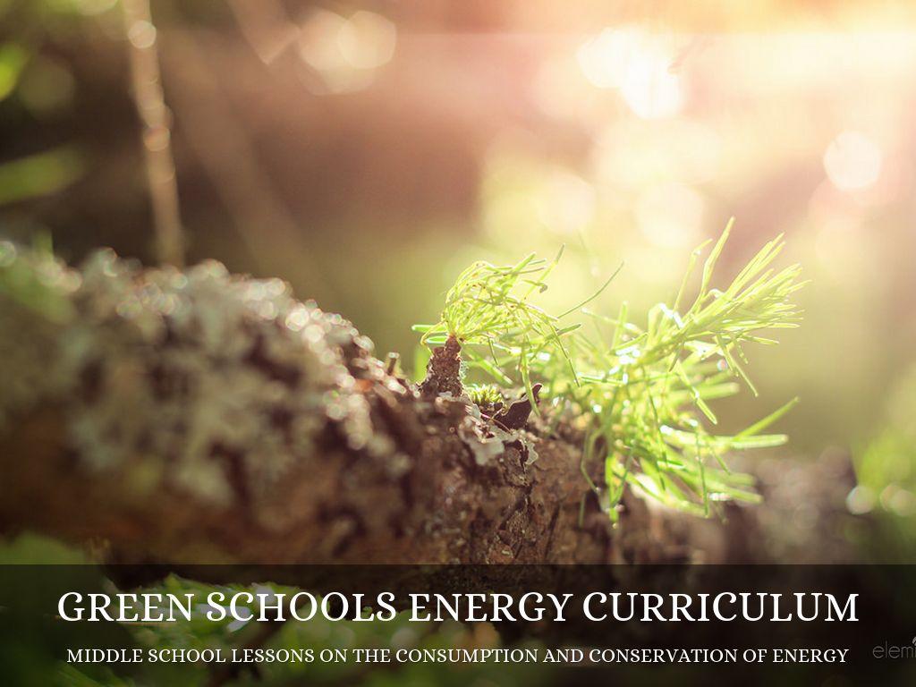 Green Schools Curriculum