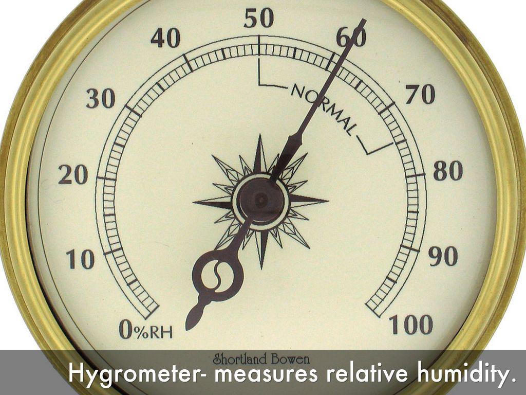 Resultado de imagen de hygrometer meteorological instrument