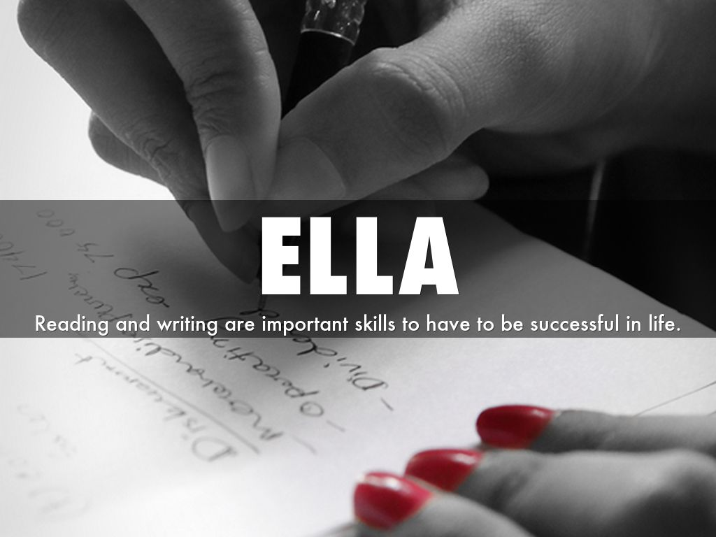 thesis statements by fhs ella reading and writing are important skills to have