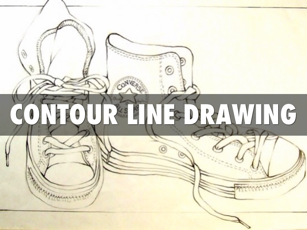 Teachertube Contour Line Drawing : Contour line drawing by travis bingle