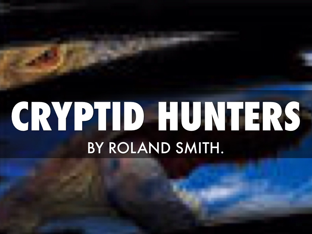 cryptid hunters by clare hammonds