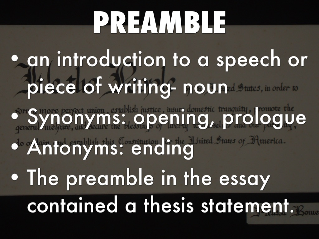 thesis preamble Preamble overview of the scientific method planning a phd dissertation writing up references preamblephd thesis preamblecustom essay education phd thesis latex preamble help in writing essay for college 8th grade homework helpthe yellow wallpaper analysis essay phd thesis preamble us government resume writing service thesis custom drop down.