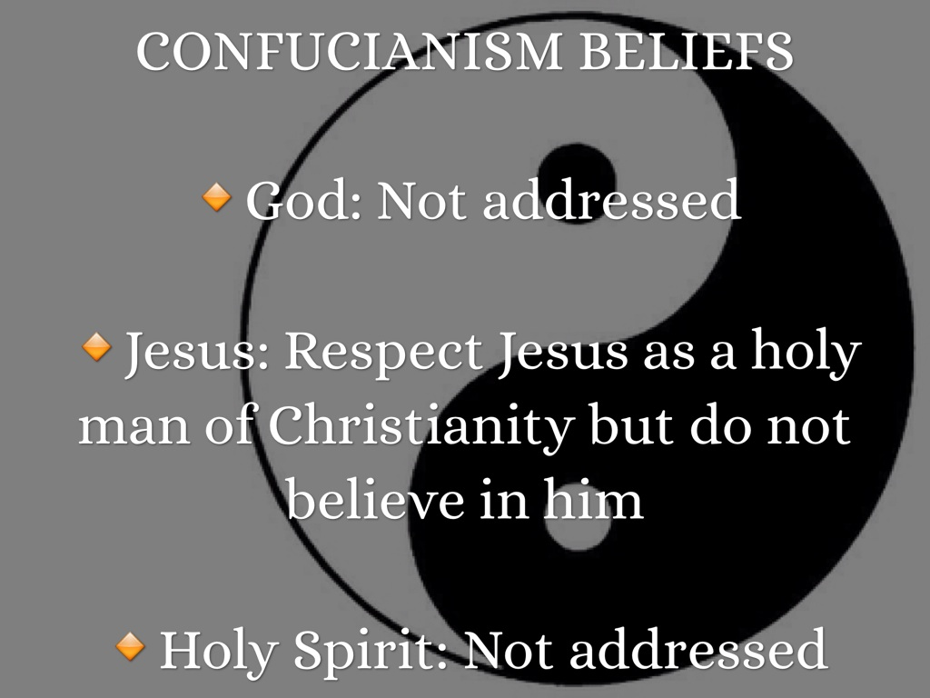 confucius and the religion of confucianism Confucius and confucianism confucius (k'ung fu-tzu) was born of a rather impoverished family of noble descent in the state of lu (in modern shantung.