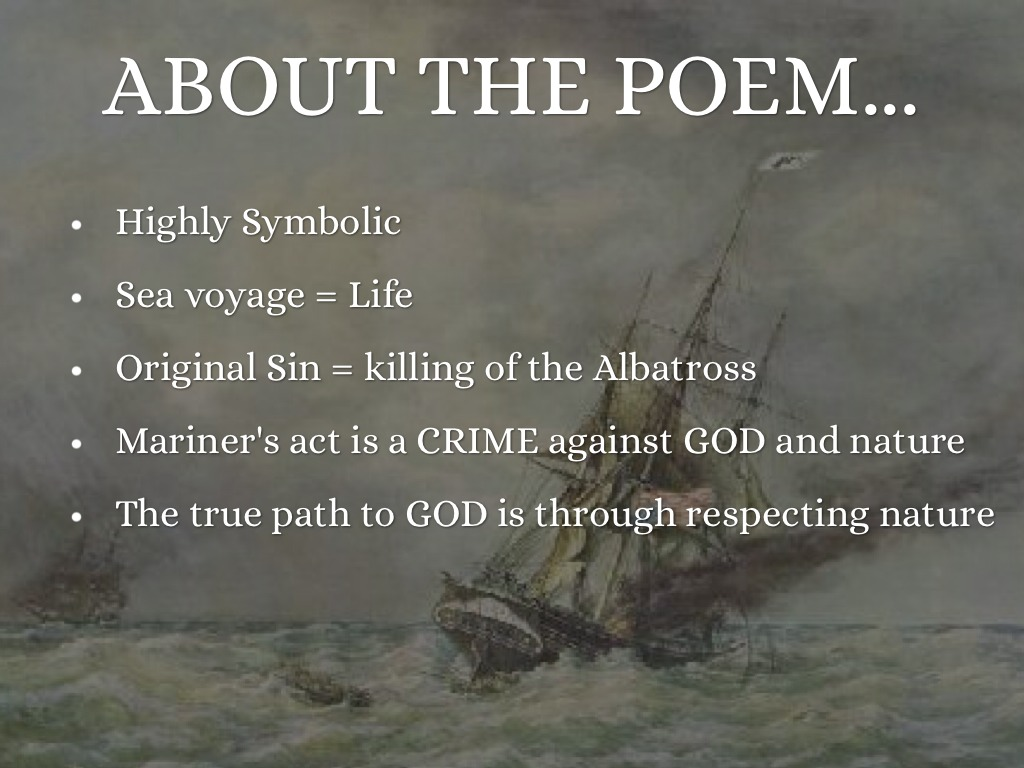 the rime of the ancient mariner by giorgia about the poem