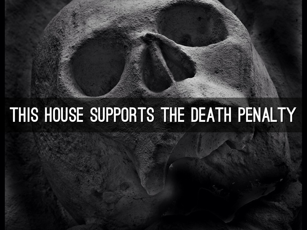 supporting the death penalty