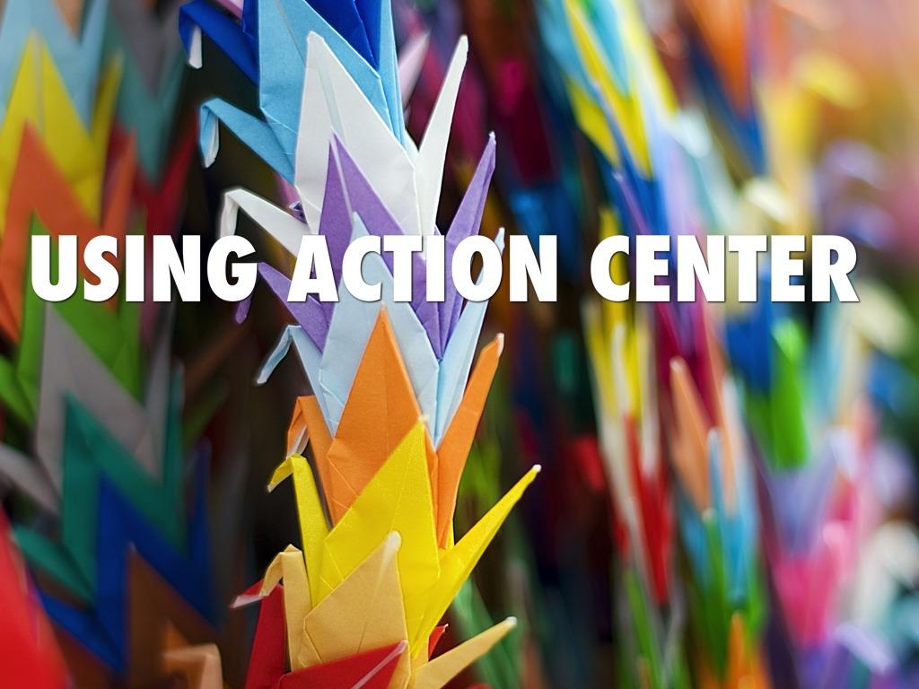 Windows 7 Action Center Coltin