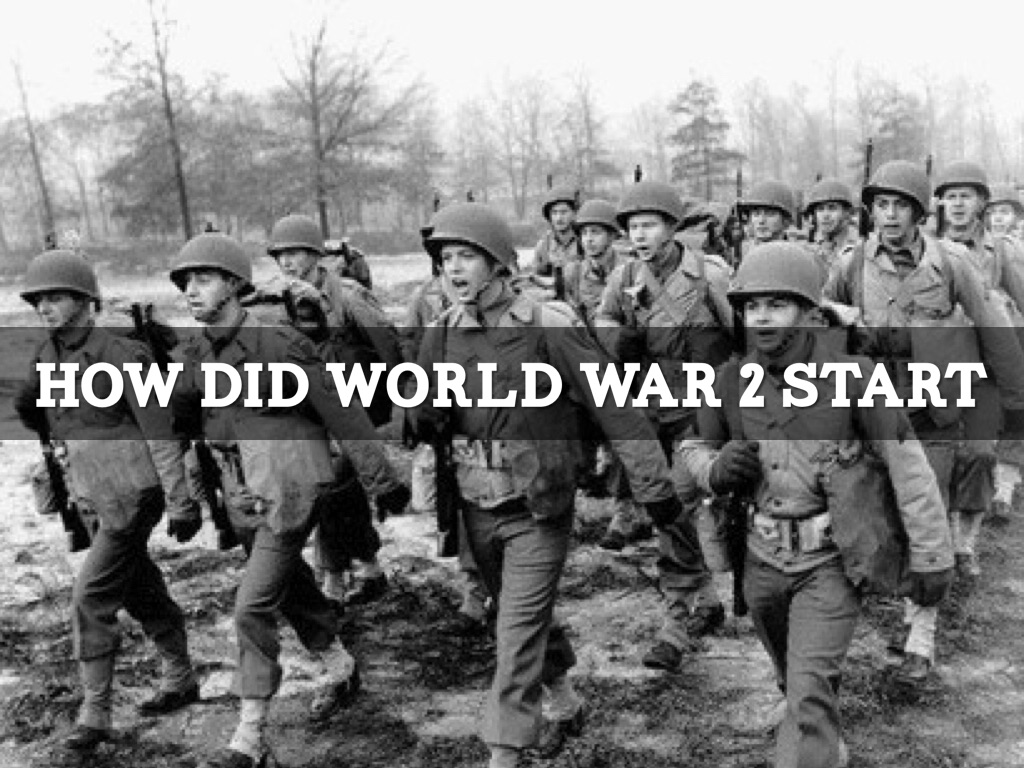 why did ww2 start Why did the second world war start the second world war was started by germany in an unprovoked attack on poland  britain and france declared war on germany after hitler had refused to.