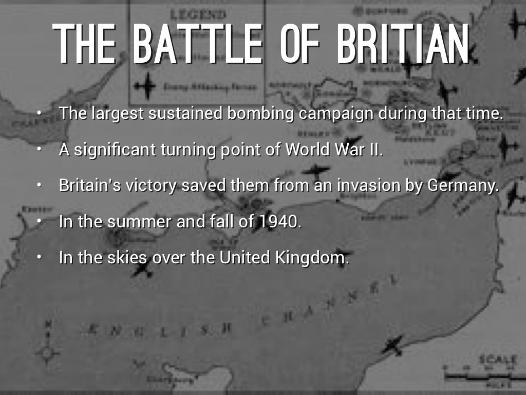 battle of britain by hansen bargantine