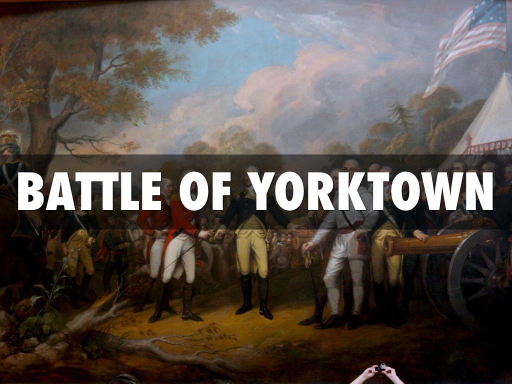 Battle Of Yorktown by Mrs McKinnon