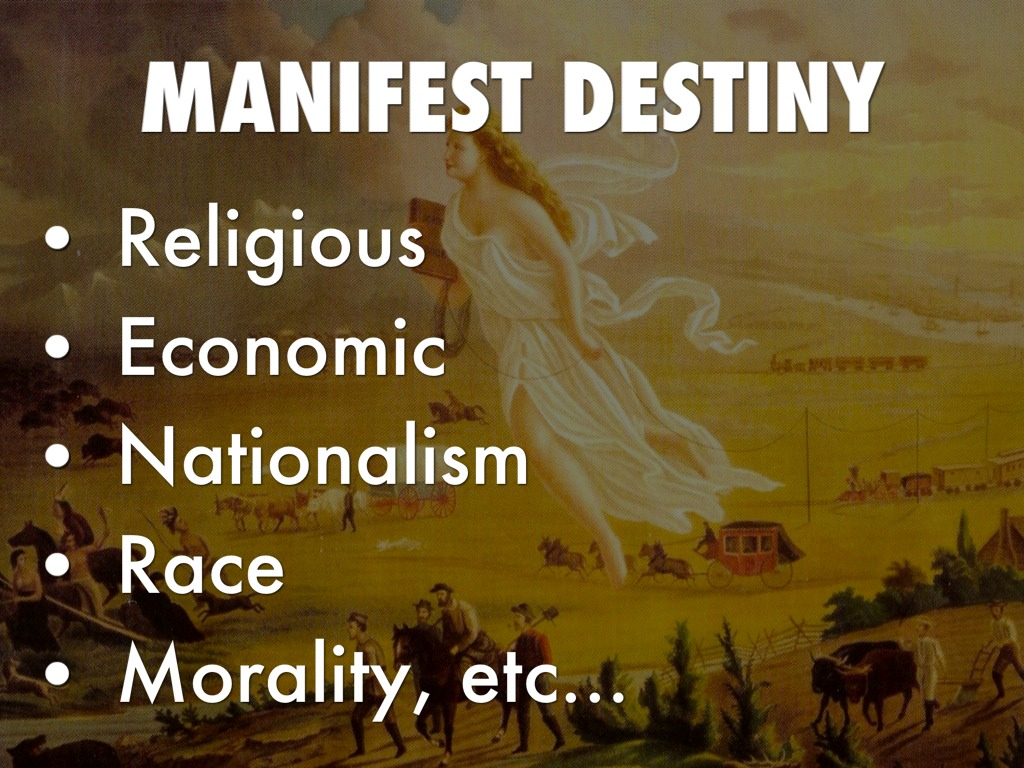 manifest destiny and race