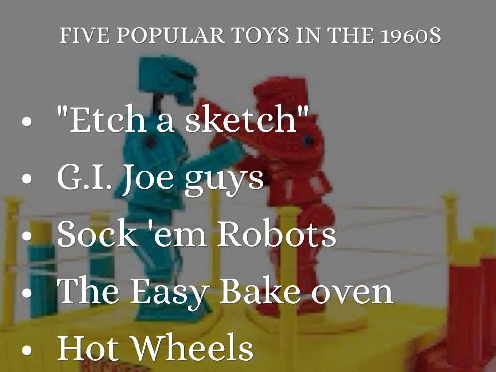 Popular Toys In The 1960s : S webquest flashback by voyce v