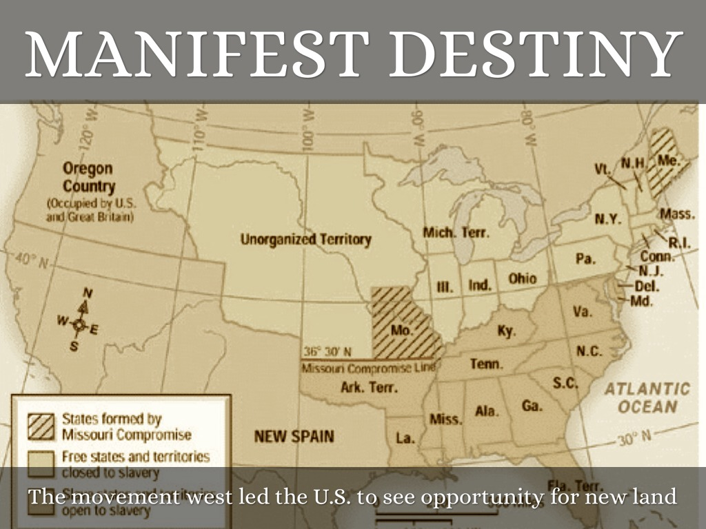 manifest destiny movement Manifest destiny, a term coined by journalist john o'sullivan in 1845, was a driving force in 19th century america's western expansion—the era of us territorial expansion is sometimes called the age of manifest destiny.