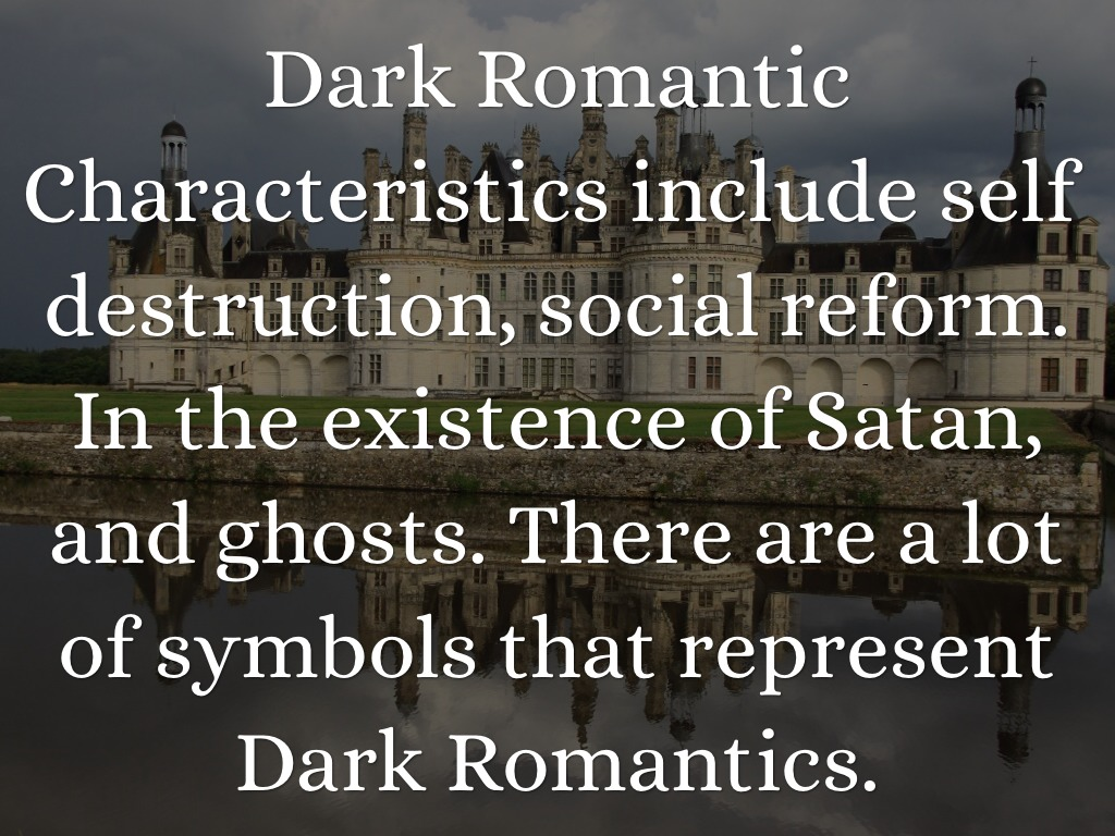 dark romantics or transcendentalists essay Dark romantics: hawthorne and poe  their ultimate form in transcendentalism like the romantics, hawthorne and poe emphasized the individualism and imagination of .
