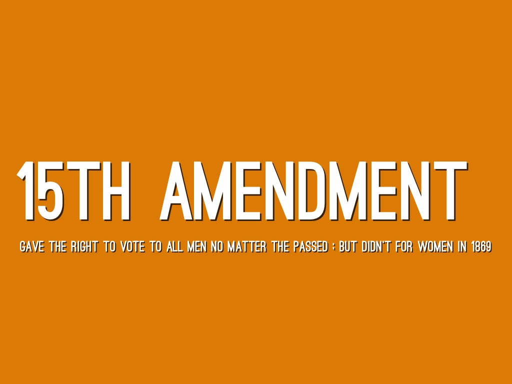 15th amendment date