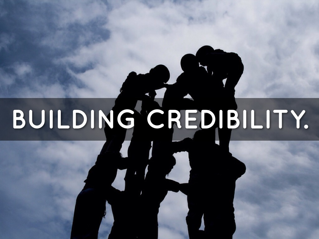 Building Credibility By Manik Mohan