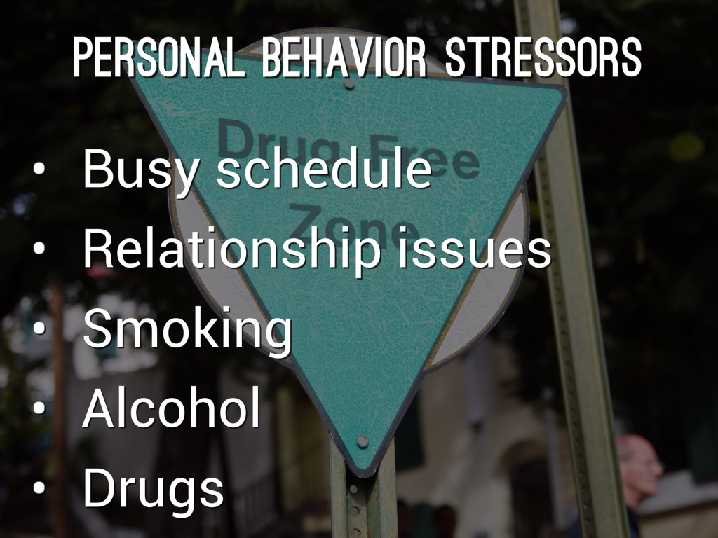 personal stress Hlt 215 - personal stress and stress management provides a basic understanding of stress and its physical, psychological, and social effects includes the relationships between stress and change, self-evaluation, sources of stress, and current coping skills for handling stress.
