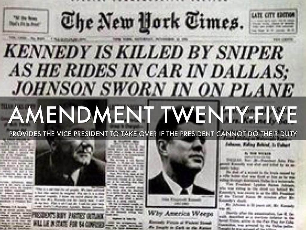 Amendment 25 | www.imgkid.com - The Image Kid Has It!