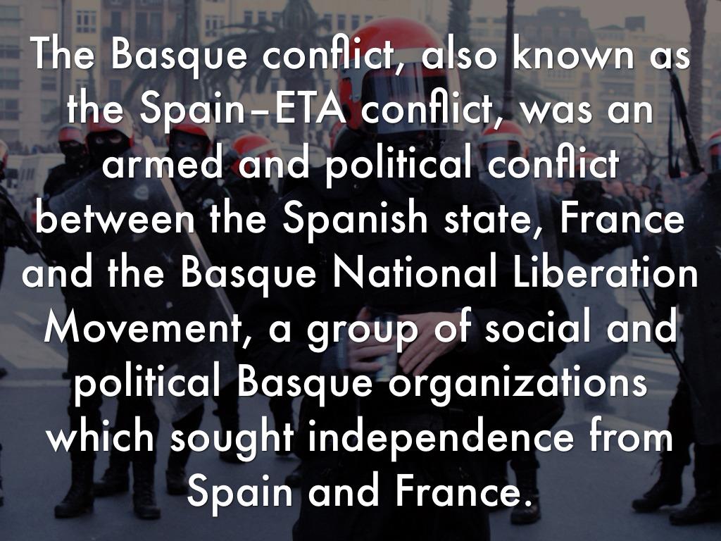 basque conflict essay
