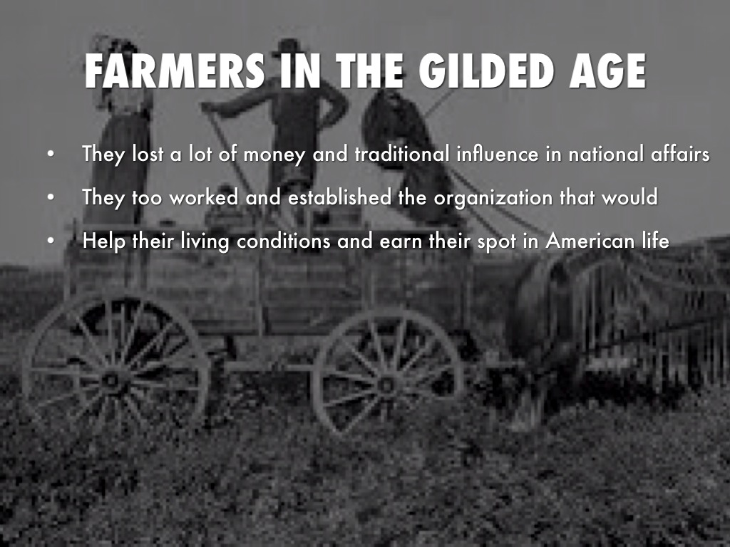 farmers and industrial workers response to the gilded age
