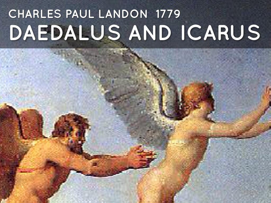 the icarus myth by carol allen
