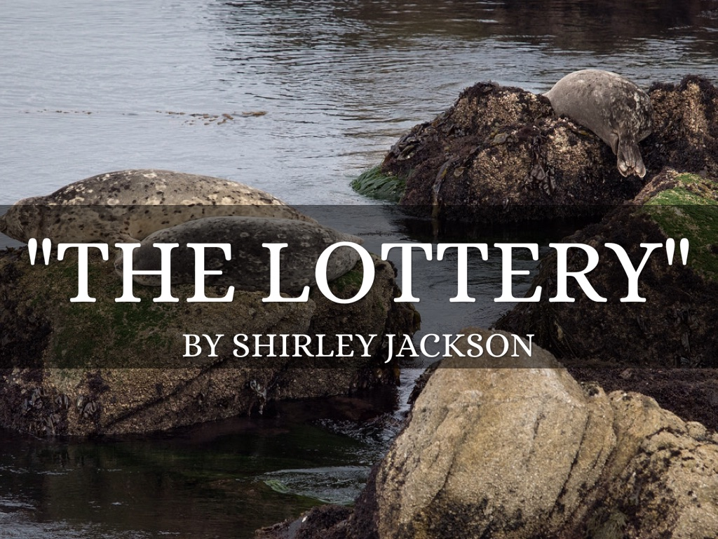 the lottery outline