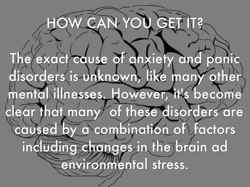 how to stop anxiety panic disorder