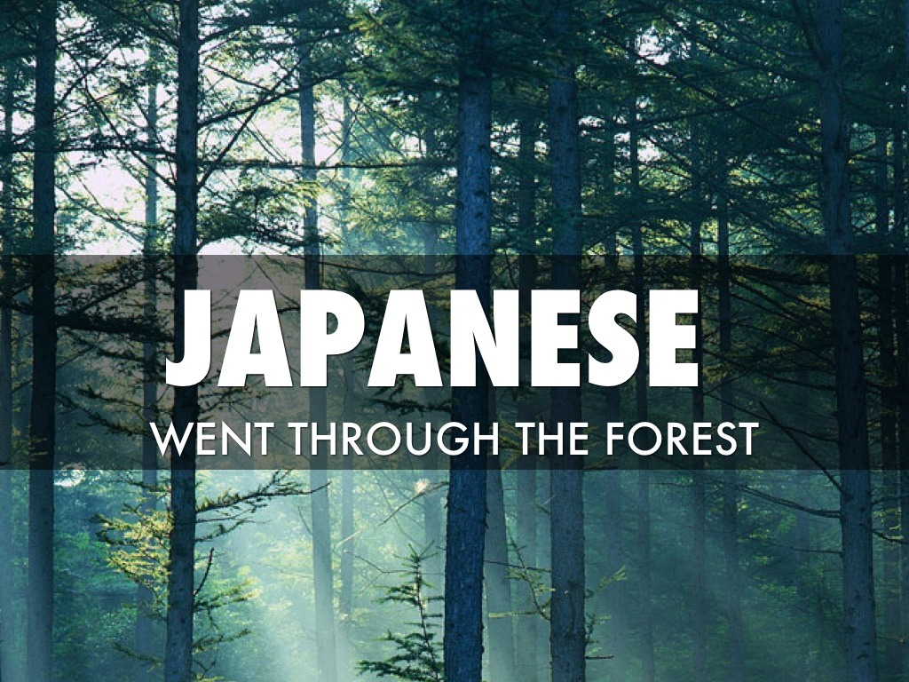 the japanese occupation During the japanese occupation, the locals, especially the chinese, were cruelly and brutally treated by the japanese they had a grudge against the chinese as they had helped china in their fight with the japanese.