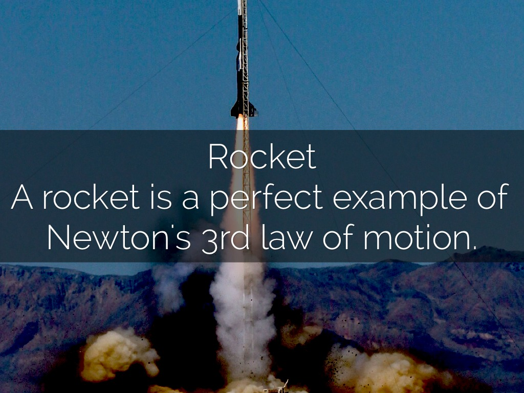 a rocket launch explanation through the three newton laws Through it and the balloon is propelled in the newton stated three what this law means a rocket can liftoff from a launch pad only.