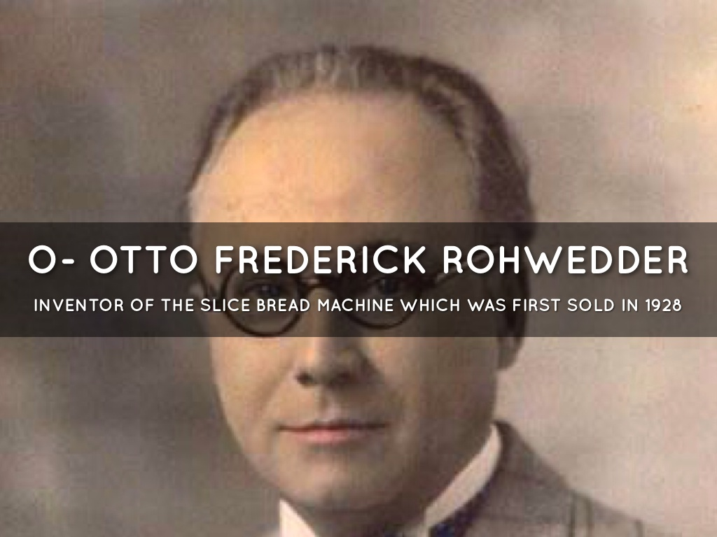 Image result for otto frederick rohwedder