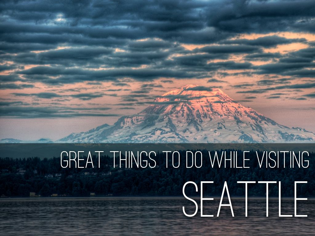 Visiting Seattle By Adam Tratt