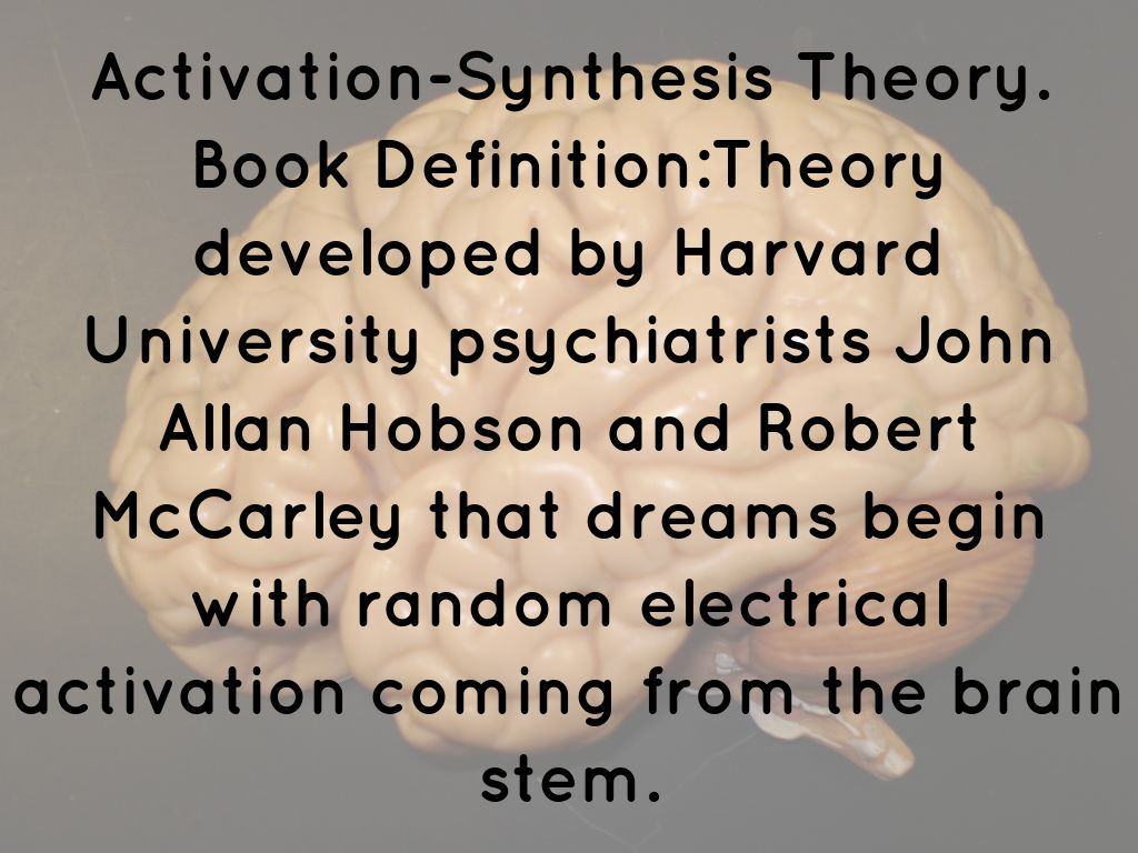 activation synthesis theory
