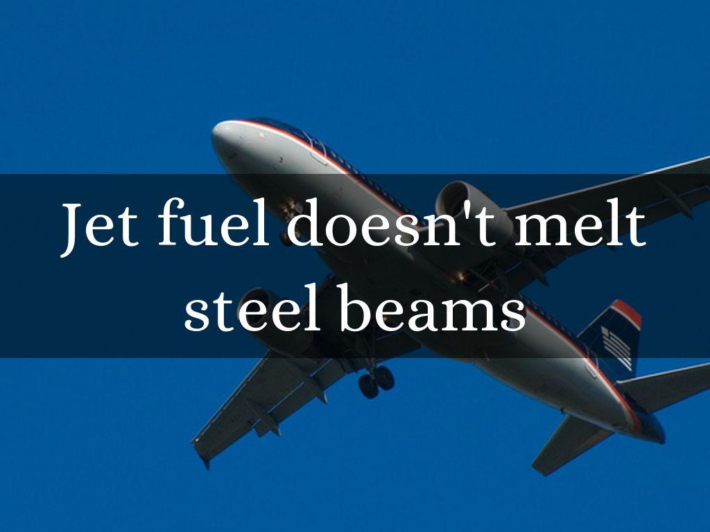 Jet fuel doesn't melt steel beams