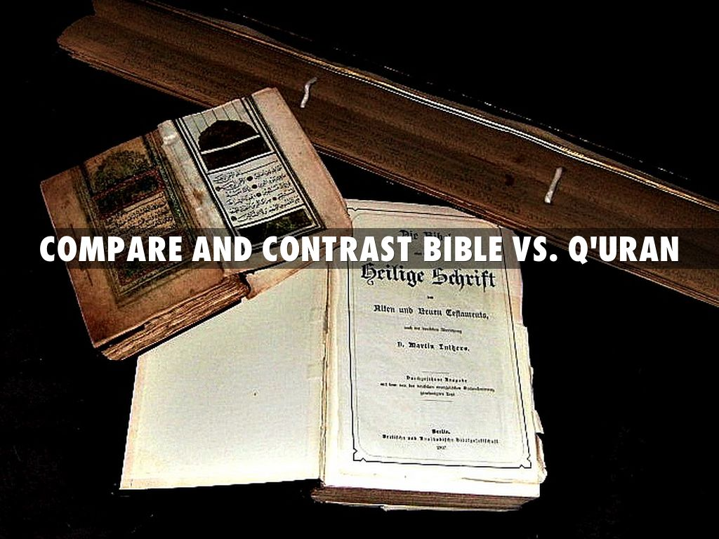 comparing and contrasting biblical and professional