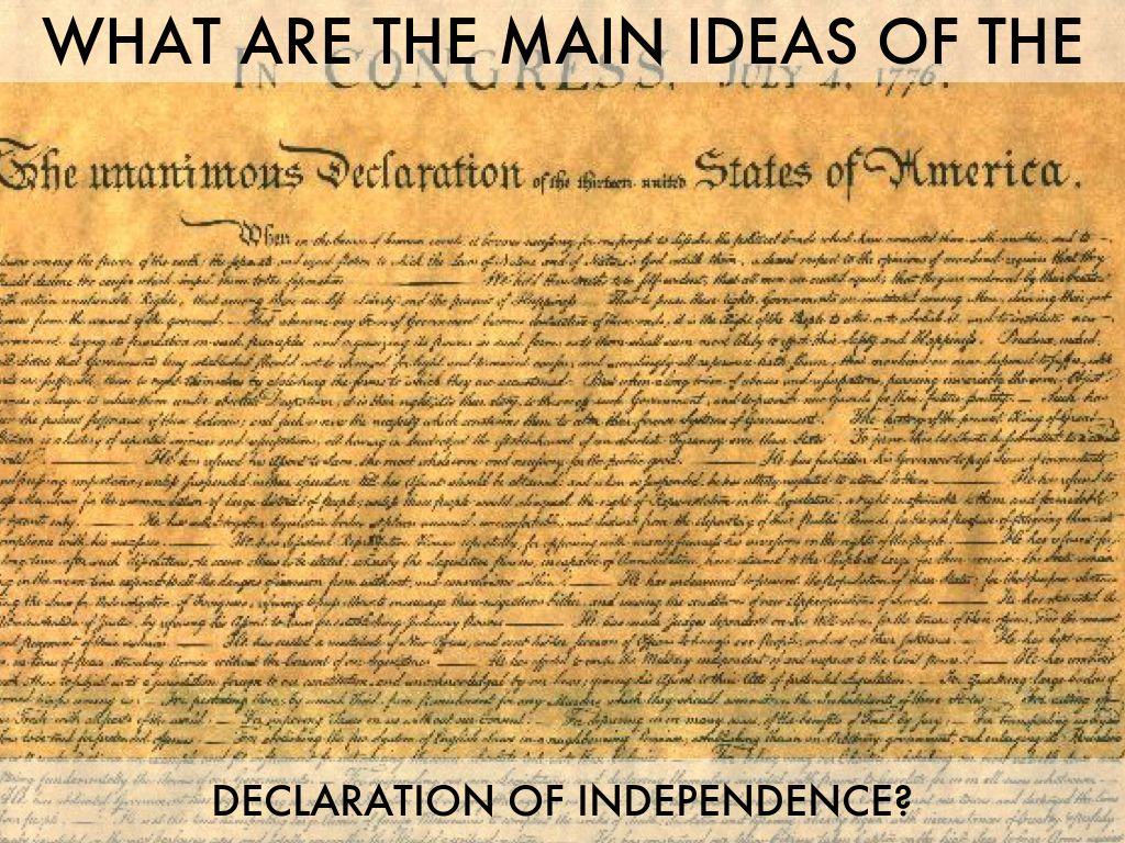 the declaration of independence by lauren walker