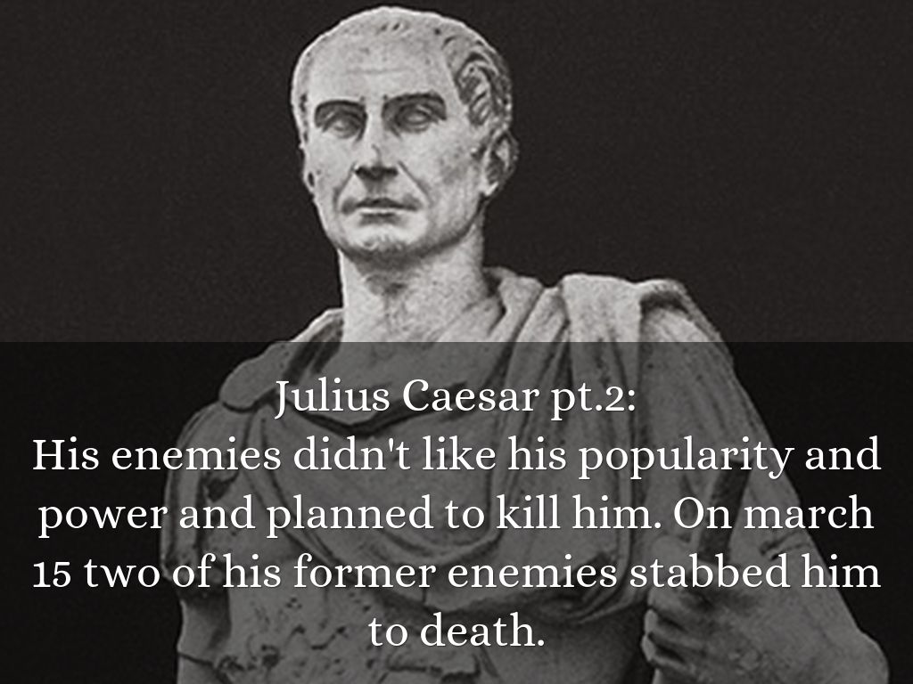 An analysis of the most powerful conquer of all julius caesar
