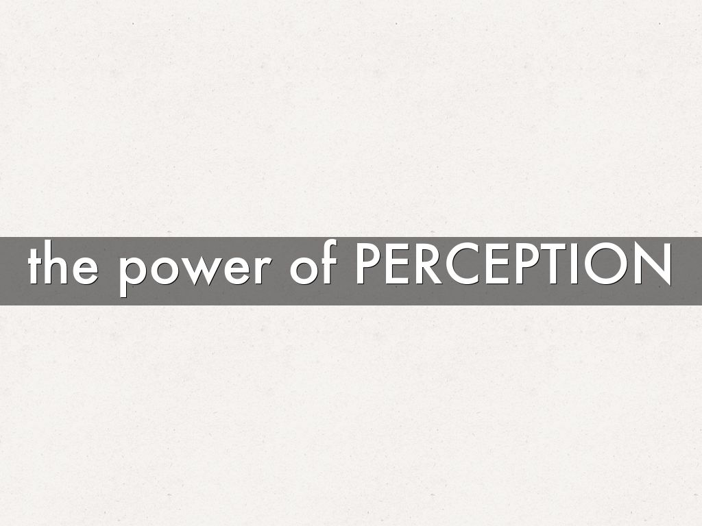 the power of perception Here is a new matrix to help you understand different types of power depending on the perception that you and others have.