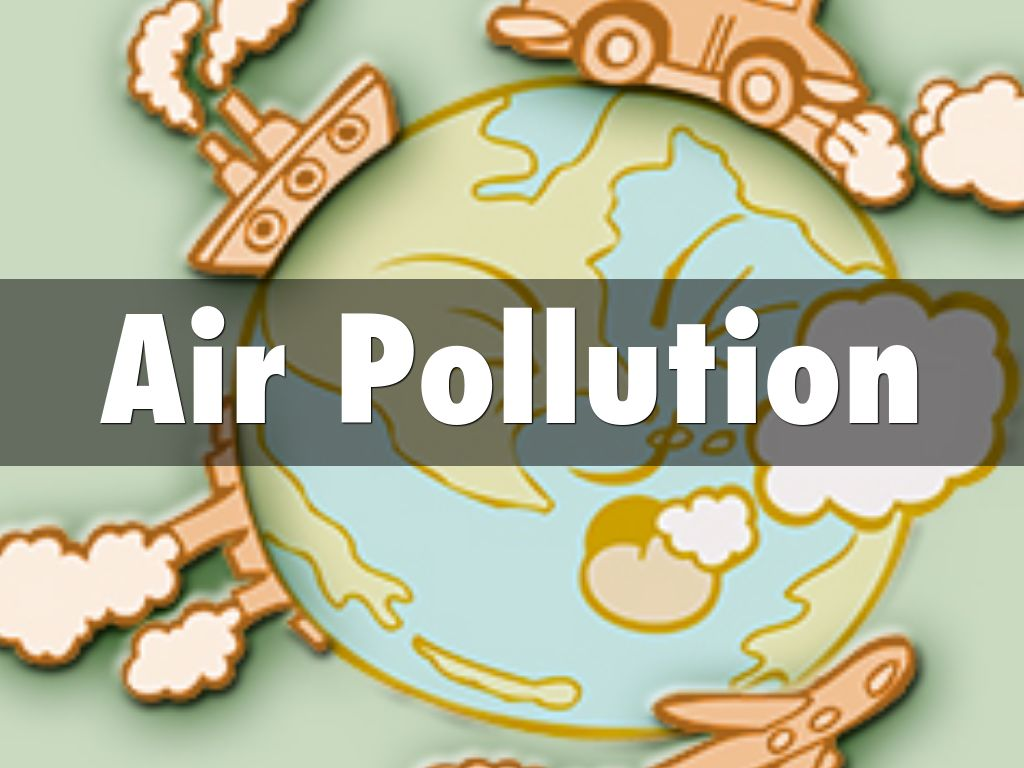 Air Pollution Poster For Kids