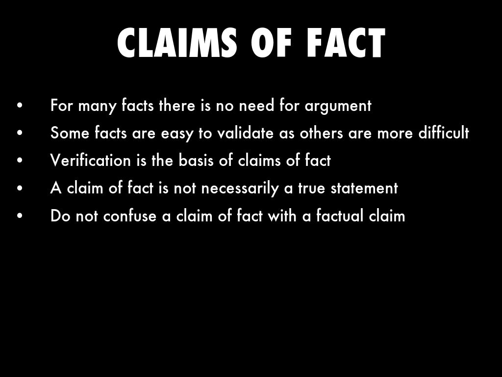 toulmin model of argument claims by kairi suswell claims of fact