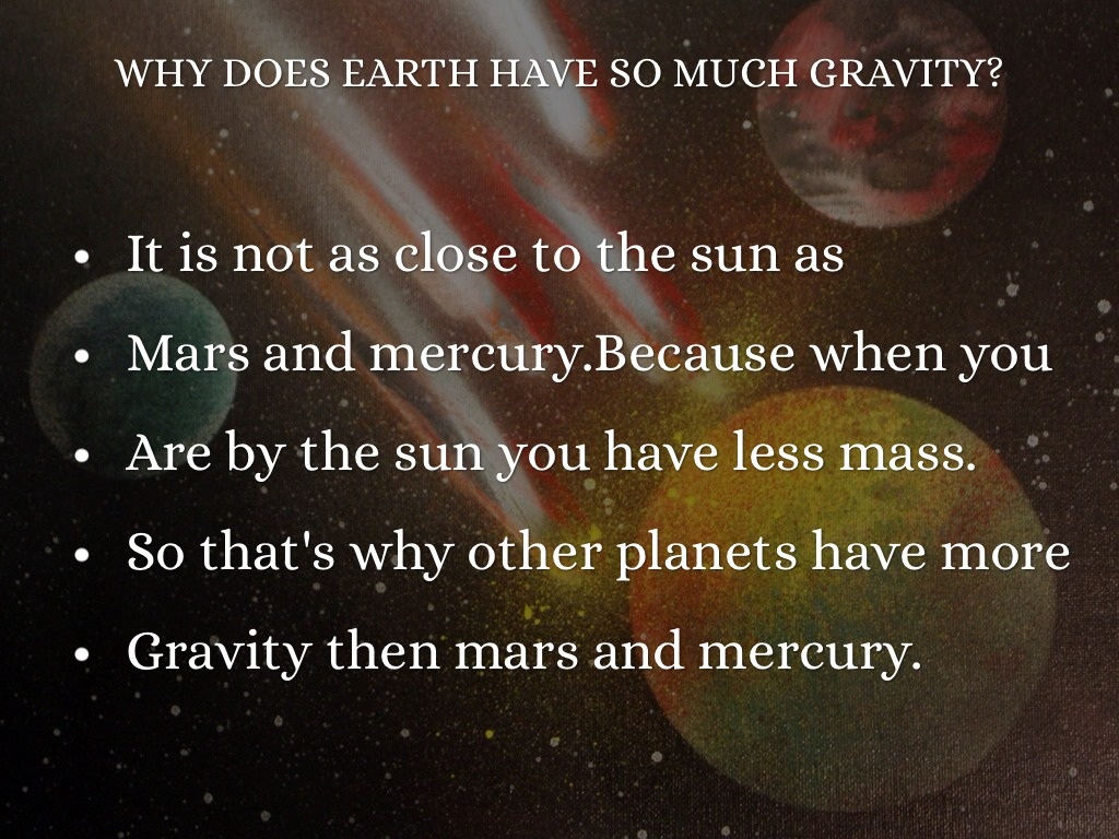 do other planets have gravity - photo #39